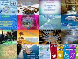 Postals solidàries a l`Òmnia Casal Cívic Badalona - Sant Roc