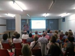 Fotografia de la presentació de la programació de #gòTICtardor18