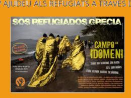 Cartells d`ajuda als refugiats
