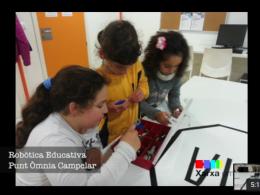 Robòtica Educativa a l`Òmnia Campclar de Tarragona