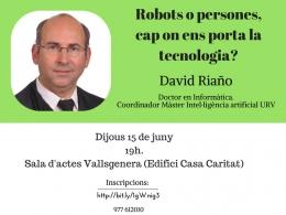 Jornades 2.0: Robots o persones, cap on ens porta la tecnologia?
