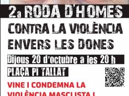 2a Roda d`Homes Contra la Violència de Gènere, Santa Coloma de Cervelló