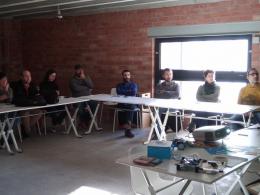 Dinamitzadors i dinamitzadores Punt TIC a la 7a trobada ScratchEd Meetup