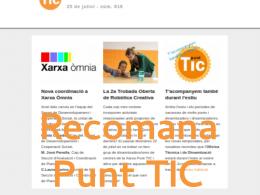 Recomana el Setmanari Punt TIC!