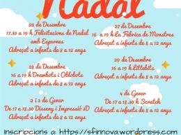 Tecno Nadal al Punt TIC de la Biblioteca Montserrat Roig