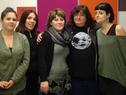 Voluntaris internacionals visiten l`Òmnia Gaó Kaló