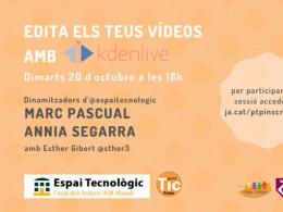 Webinar KdenLive al Punt TIC Palau
