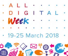 Banner de l'ALL DIGITAL Week