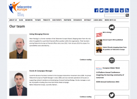 Web de Telecentre Europe