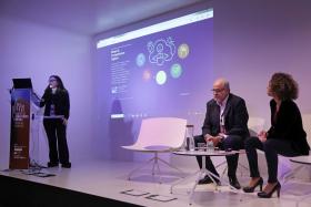 Presentació del Mapa de competències digitals al I Congrés de Competències Digitals