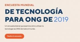 Nonprofit Tech for Good llança l'Enquesta Mundial de Tecnologia per a les ONG 2019