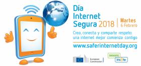 Cartell del Dia de la Internet Segura 2018, en castellà