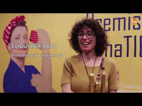 Embedded thumbnail for VIDEO | Gala de lliurament dels Premis Dona TIC 2019