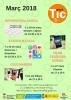 Cartel de las formaciones de marzo de Sant Feliu Innova