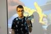 Jordi Rodríguez, dinamizador del Òmnia Campclar, en la Jornada Punt TIC i Presó 2017