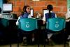 A computer class at San Jose