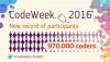 Europe Code Week 2016, a record year