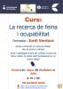 Cartell del curs 'La recerca de feina i ocupabilitat'
