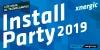 Cartell de la 'Install Party 2019' de Mataró