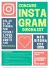 Cartell del concurs d'Instagram Girona Est