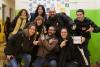 Foto de grup de persones que van participar a l'acte de presentació d'EDhack Raval