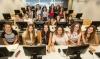Grup de participants en una edició anterior de 'Girls Hack Day'