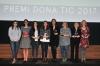 Foto de grup de totes les guanyadores del Premi Dona TIC 2017