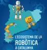 Part de la portada de l'Estudi de l'ecosistema de la robòtica a Catalunya