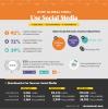 Infografia con algunos de los datos del Informe Global sobre Tecnología online de las ONG 2017