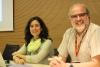 Moment del webinar amb Marta Massagué i Ricard Faura