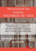 Cartell de l'activitat per a la realització d'un mura col·lectiu a Ripoll per la festa de la Convivència del 26 d'octubre