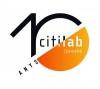 Logotip del 10è aniversari del Citilab