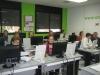 Una classe a l'Infocentre