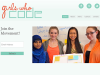Captura de la plana web de Girls Who Code