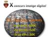 Part del cartell del X Concurs d'imatge digital de Santa Bàrbara