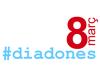 Logotip del cocnurs de Twitter del Dia de les Dones