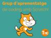Apunta't al grup d'aprenentatge de coding amb Scratch!
