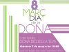 Part del cartell del Dia de la Dona al barri d'Espronceda de Sabadell