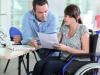 TIC i discapacitat. Imatge de la plana web d'ITU