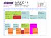 Horari del Punt TIC elCanal durant el mes de juliol de 2013