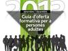 """Portada de la """"Guia d'oferta formativa per a persones adultes"""" de l'Ajuntament de Masquefa"""