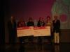 Foto de les premiades al lliurament de premis de Femitic