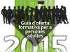 Part de la portada de la Guia d'oferta formativa per a persones adultes del CTC Masquefa
