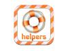 Logotip de Helpers, una de les aplicacions del dossier DIXIT