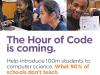 Crida per participar a la Hour of Code