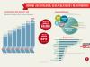 Infografia sobre l'estat de salut del domini .cat