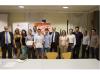 Guanyadors del concurs Yuzz Sant Feliu amb els participants a la jornada