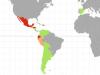 Mapa sobre com valoren els països de parla hispana el software lliure