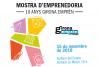 Cartell de la Mostra d'Emprenedoria que tindrà lloc el 15 de novembre per celebrar els 10 anys de Girona Emprèn