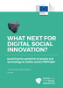 "Portada del informe ""What next for digital social innovation?"""